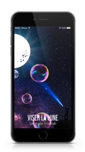 Site Web (version mobile) : VISER LA LUNE - jenlidesign.com