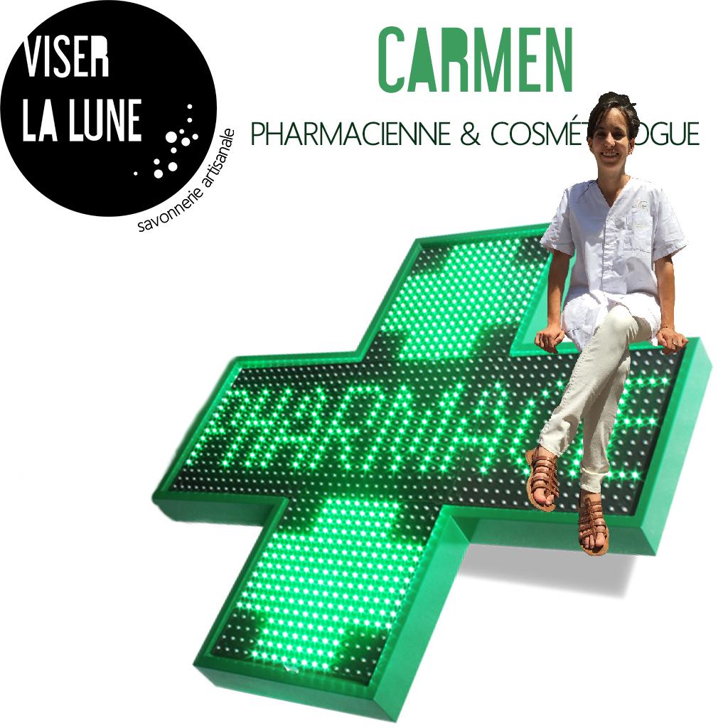 Pharmacienne - Carmen Hervas Alonso - jenlidesign.com