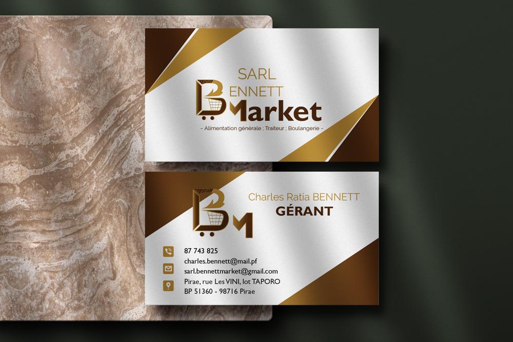 Projet SARL BENNETT MARKET - jenlidesign.com