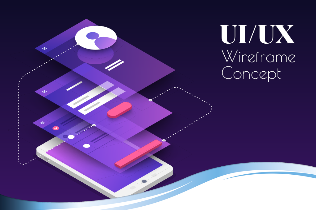 UI/UX Wireframe Concept