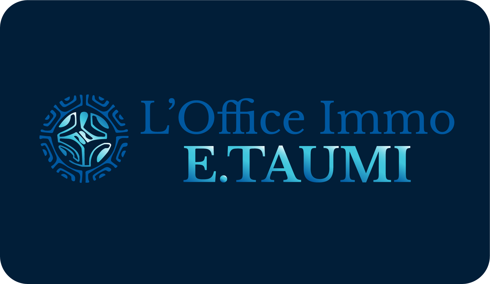 Logo L'Office Immo E.TAUMI - https://jenlidesign.com